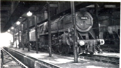 March railway depot in happier times; 1964.