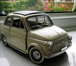 Fiat 500, but a model!
