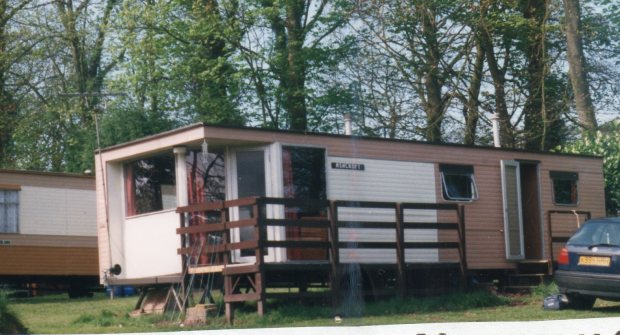 Caravan in the wood, Trimimngham