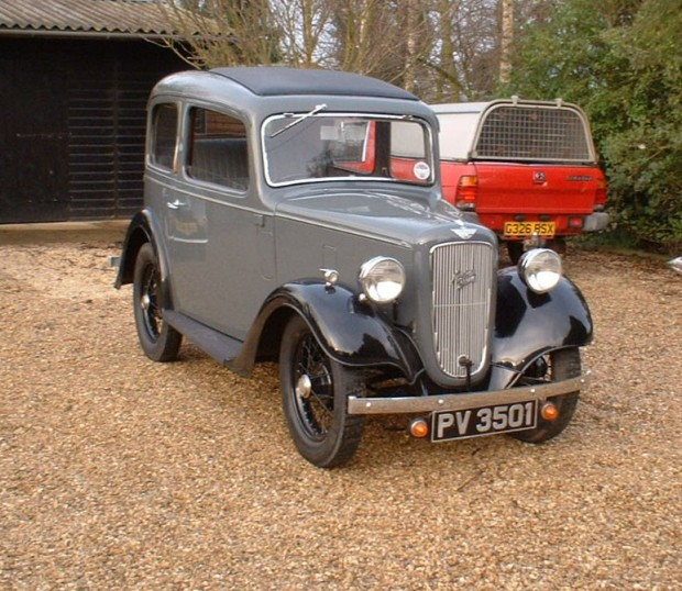 Ladybird in 2007. This is the car I travelled to Loddon in, 1959.