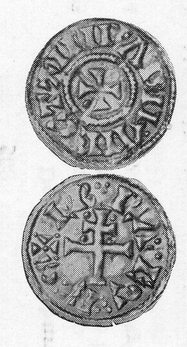 Viking coin: mirabilia fecit.