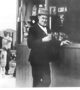 STANLEY ALDRICH outside his stall on South Beach