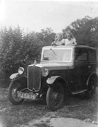 MICKEY: the car we had when I was born.