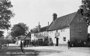 THE RED LION during WWI