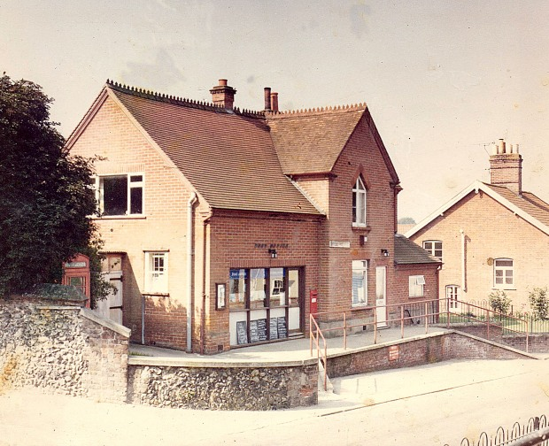 OLD COSTESY POST OFFICE, 1970s.