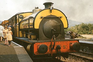 A tank engine, NNR in M&GN livery