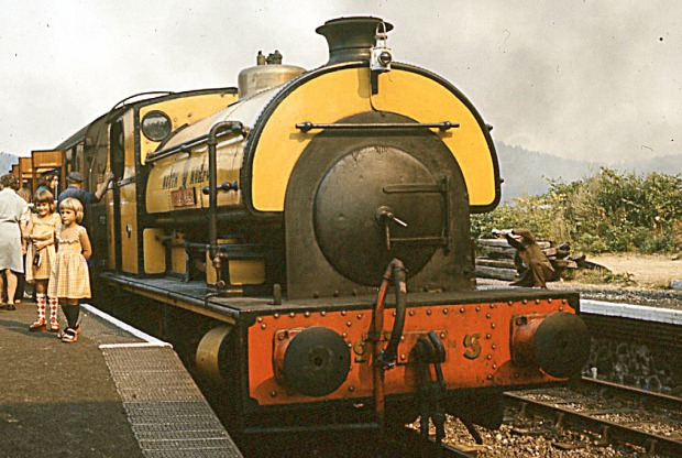 A Saddle tank at the NNRi n M&GN livery