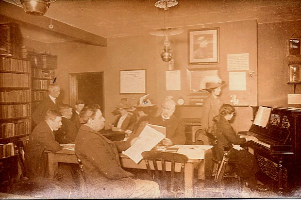 THE READING ROOM, CHAPEL ST. CAWSTON.