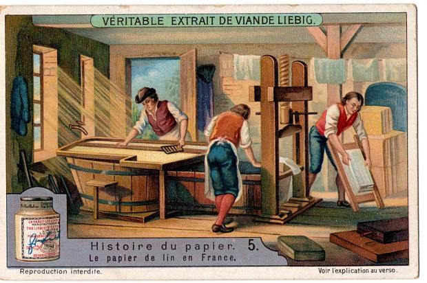 18th century paper mill.