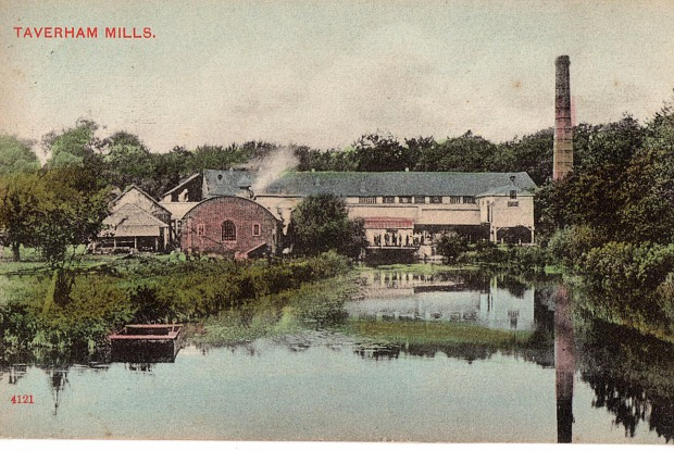 The mill shortly before closure