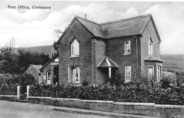 COSTESSEY POST OFFICE c1912