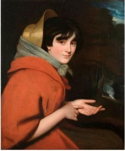 Lady Pleasance Smith as a Gypsy. Opie, c1796.