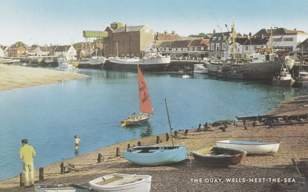WELLS QUAY about 40 years ago.