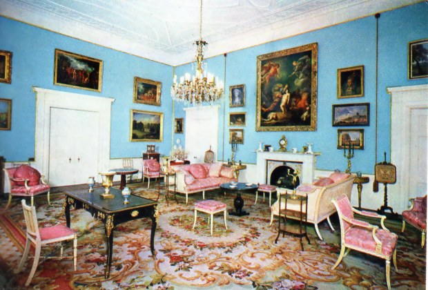 THE PINK DRAWING ROOM, Hevingham Hall