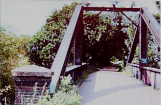 A Frame bridge over the Wensum at Drayton