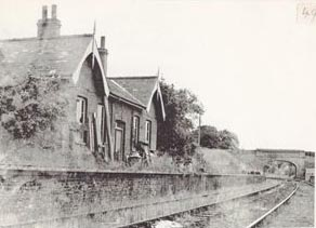 Drayton Station after closure of passenger services