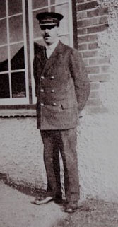 Maurice Suter, Station Master at Drayton