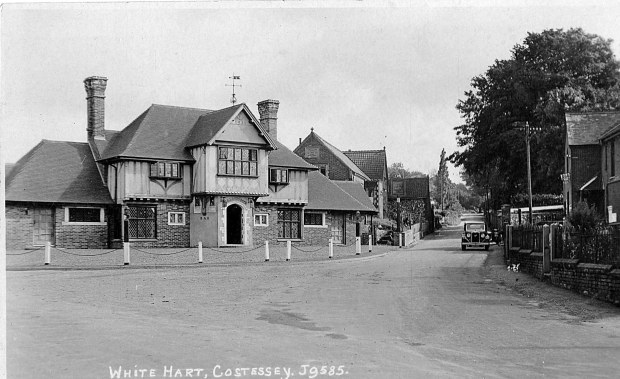 THE PUB  soon after it was rebuilt in 1931.