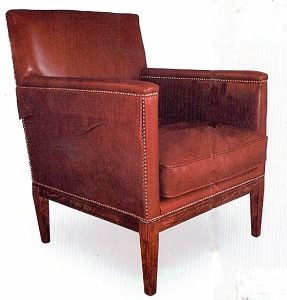 Reproduction of Nelson's chair.