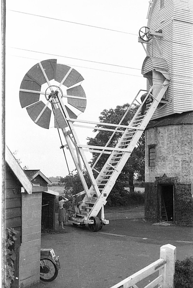 SAXTED mill, 1962