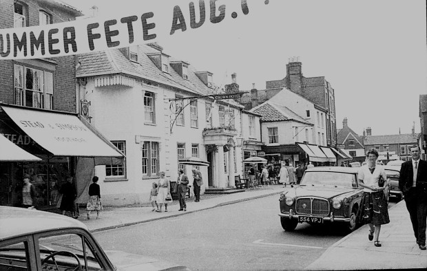 SOUTHWOLD High Street, 1962