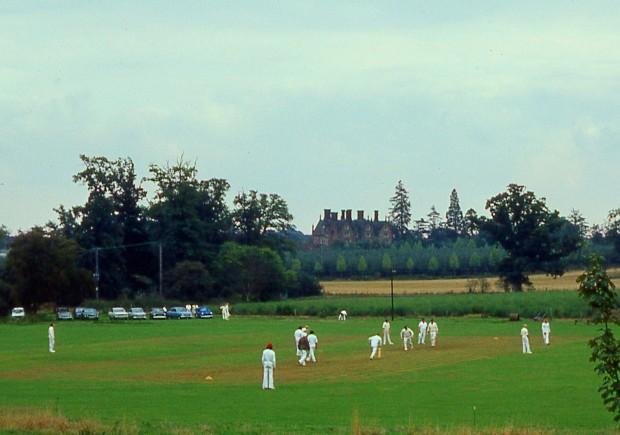 Cricket match at Dunston