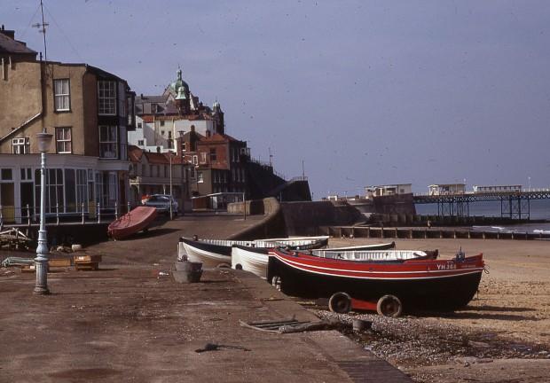 Cromer craboats, 1970.