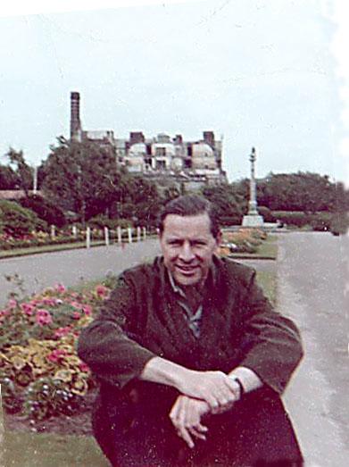 Hubert Catchpole at Lowestoft, 1958