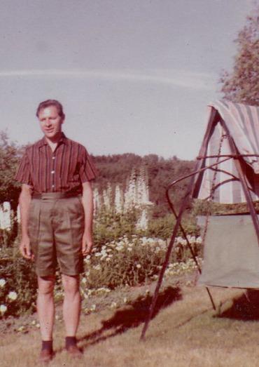HUBERT in NOVA scotia, 1957