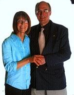 Joe and Molly at Dunston Hall