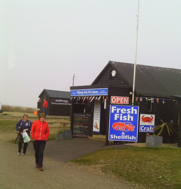 ALDEBURGH FISH SHOP 2014