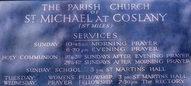 St Michael's (St Miles) Coslany