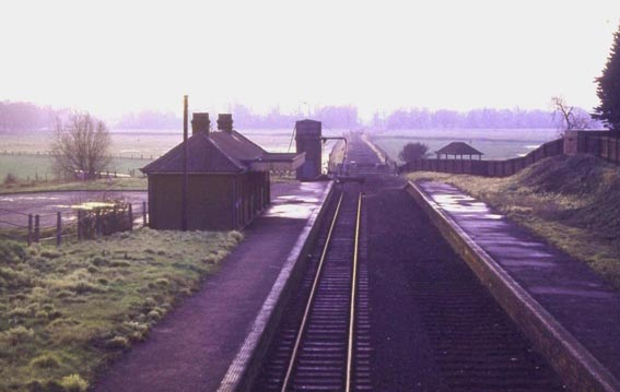 BUNGAY STATION before 1966.