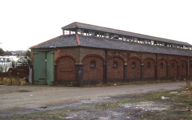 City Station goods shed
