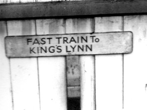 There would be no more trains to Lynn from Melton