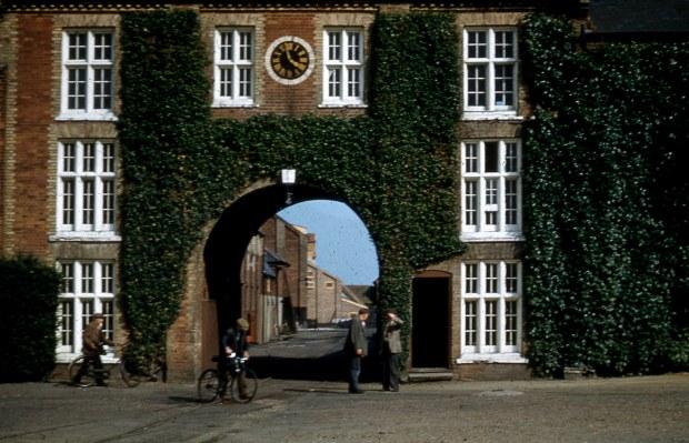 Snape maltings, 1958.