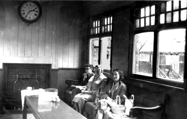 Melton Constable waiting room