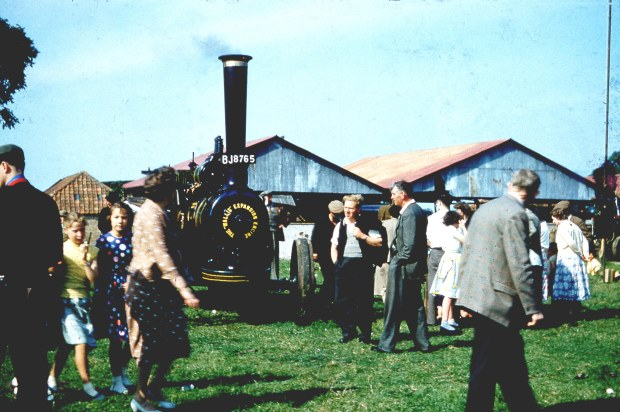 A Wallis and Steevens Expansion Engine at Woodton Traction Engine Rally.