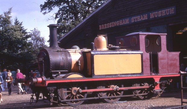 LBSC tank engine of the 1870s