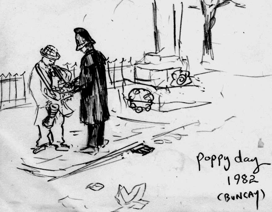 POPPY SELLER , 1982