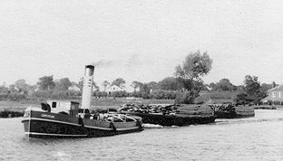 The tug Gensteam on the Yare