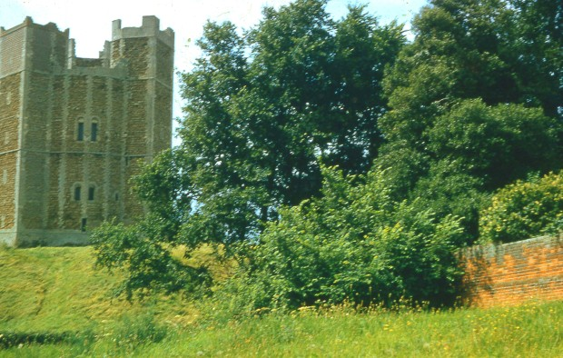 ORFORD CASTLE in 1958