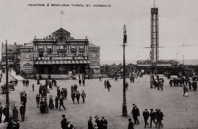 THE ROYAL AQUARIUM THEATRE, GREAT YARMOUTH c 1900