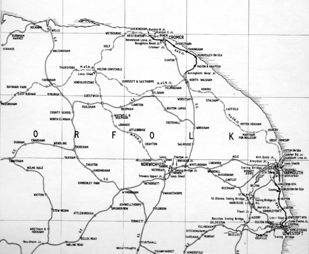 East Norfolk's railways in 1923