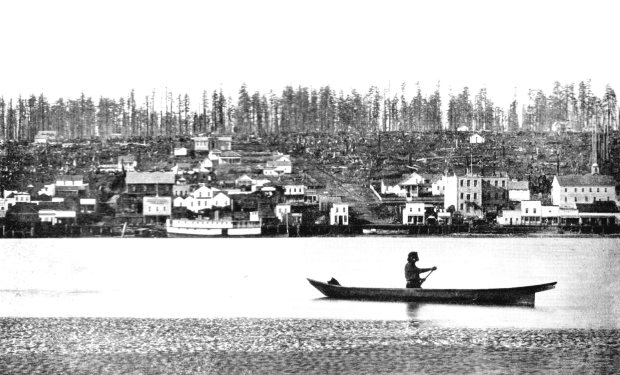 New Westminster BC, circa 1860