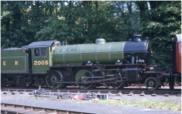 Class K1 at the North Yorkshire Moors Rai;way.