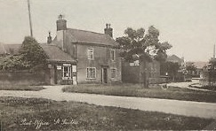 St Faiths Post Office in the early years of the C 20th.