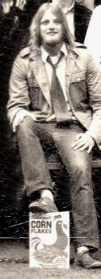 Peter Lee-Wright 1970. JCR President.
