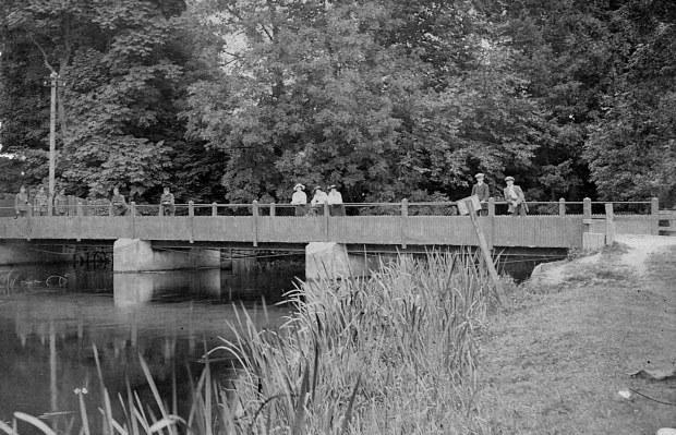 Old Bridge over the river Wensum at Taverham.