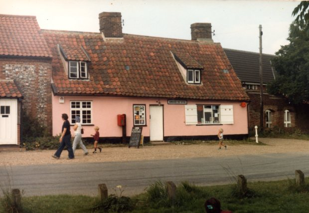 Bawburgh Post Office circa 1985.